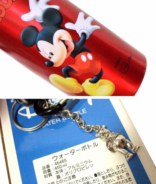 【新品】 Disney ディズニー ウォーターボトル、水筒,キーチャーム付 (ミッキーマウス) 099410