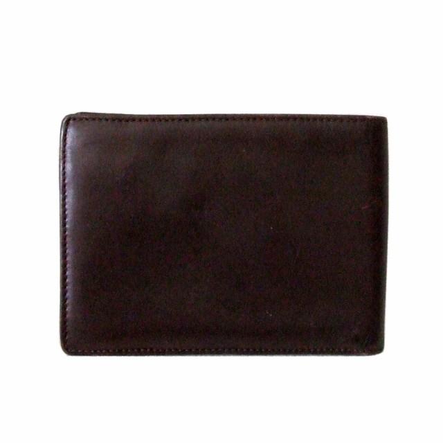 廃盤 Vivienne Westwood ヴィヴィアンウエストウッド イタリア製 オーブレザーウォレット 折財布 (茶色) 101250