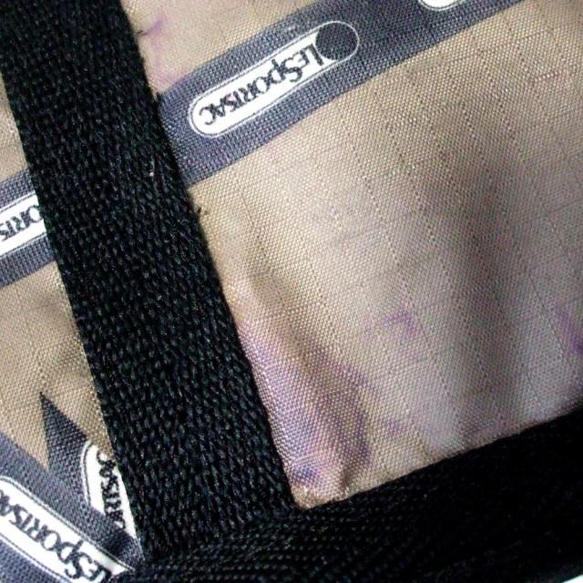 LeSportsac レスポートサック モノグラムショルダーバッグ (茶色 鞄) 102638