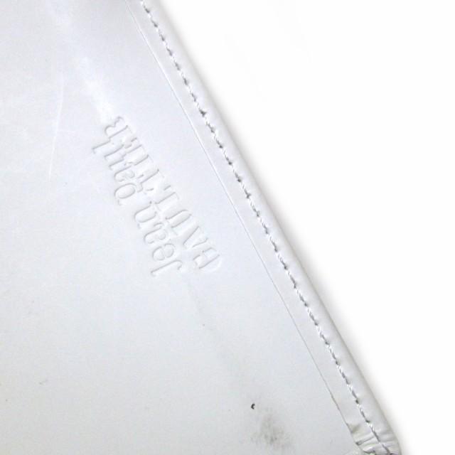 難有 [SALE] 廃盤 Jean Paul GAULTIER ジャンポールゴルチエ ミリタリーパスケース (ゴルチェ 白 カードケース) 102682