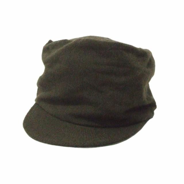 美品 MUJI 無印良品 ウールワークキャップ (カーキ 帽子 ムジ) 110816の通販はWowma!(ワウマ) -  JIMU|商品ロットナンバー:287474489