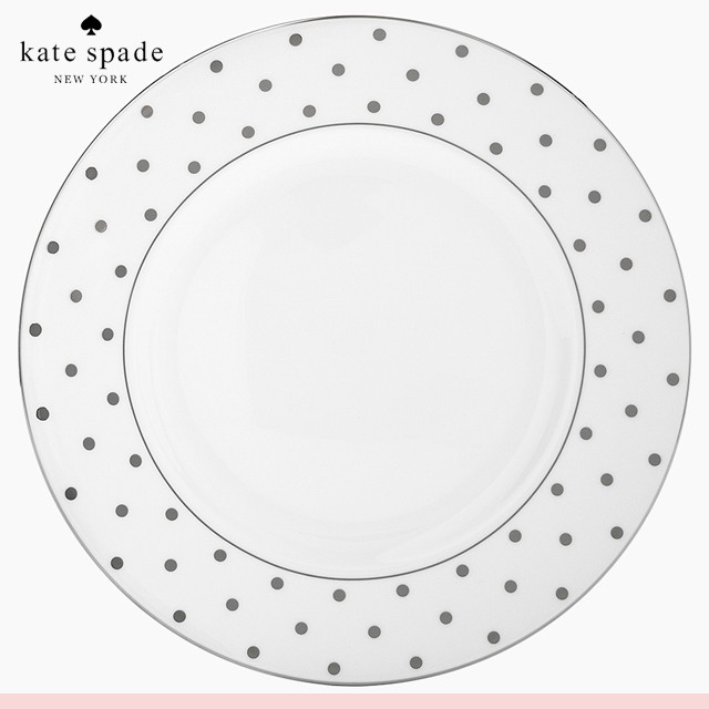 ケイトスペード kate spade new york プラチナ ディナー プレート お皿