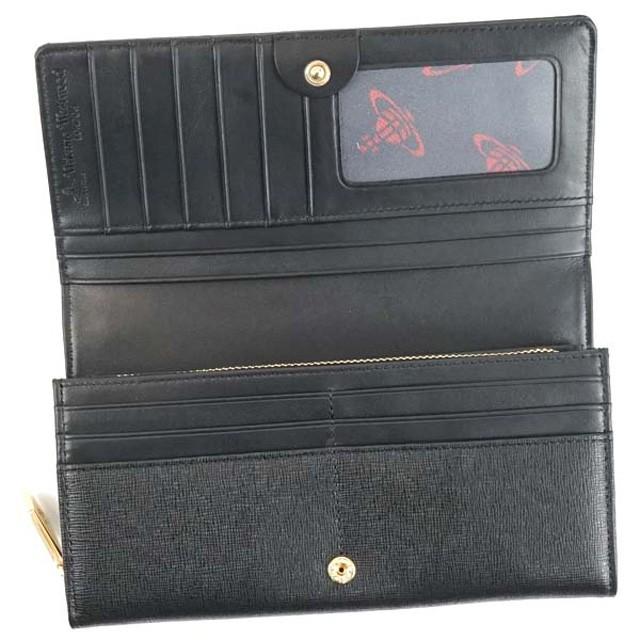 ヴィヴィアン フラップ長財布