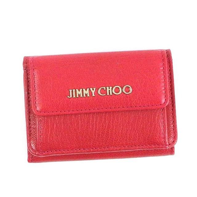 ジミーチュウ 三つ折り財布