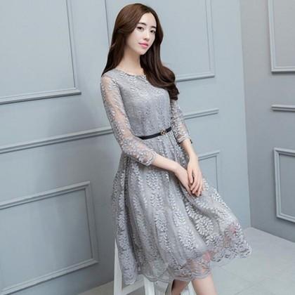 21cb7d3c60a22 ワンピースドレス ワンピース ドレス 結婚式ドレス 結婚式やパーティーにオススメ 上品なフラワー