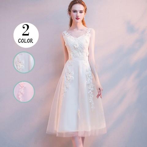 0738c65c5b0b3 パーティードレス 結婚式 二次会 ワンピース 結婚式ドレス お呼ばれワンピース 30代 40代 ミモレ