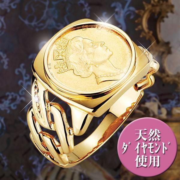 「コインがコインを呼ぶ!」LUCKY COIN RING