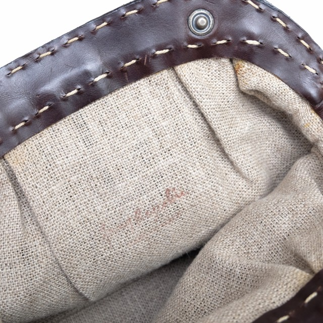 ○エンリーベグリン HENRY BEGUELIN MICHELE オミノ刺繍 ハンドバッグ レディース 中古