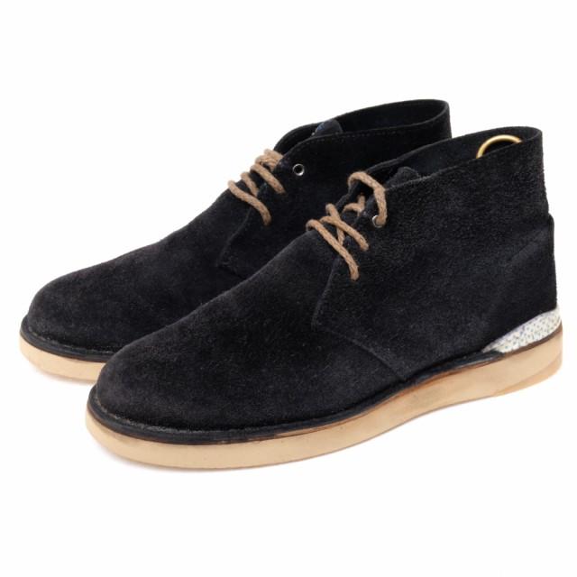 【10%OFF】 VISVIM ○ビズビム NEWELL チャッカブーツ デザートブーツ CREPE-FOLK ブーツ メンズ-靴・シューズ