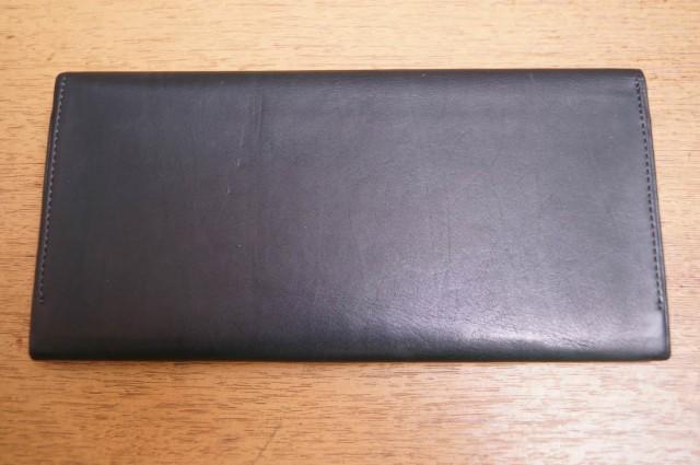 ○キプリス CYPRIS 札入れ (風琴マチ束入)レーニアカーフ 長財布 メンズ 中古