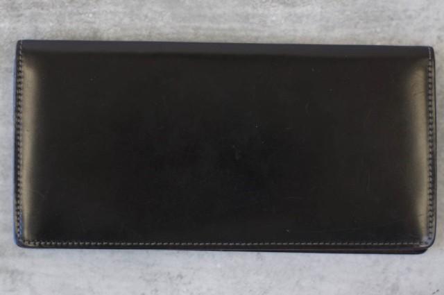 ○ソメスサドル SOMES コードバン ハノーバー HV-21 束入れ 長財布 メンズ 中古