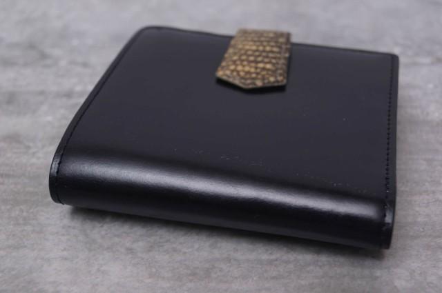 ○トゥモローランド TOMORROWLAND chesterfield bridle / billfold with purse ブライドルレザー 財布 メンズ 中古