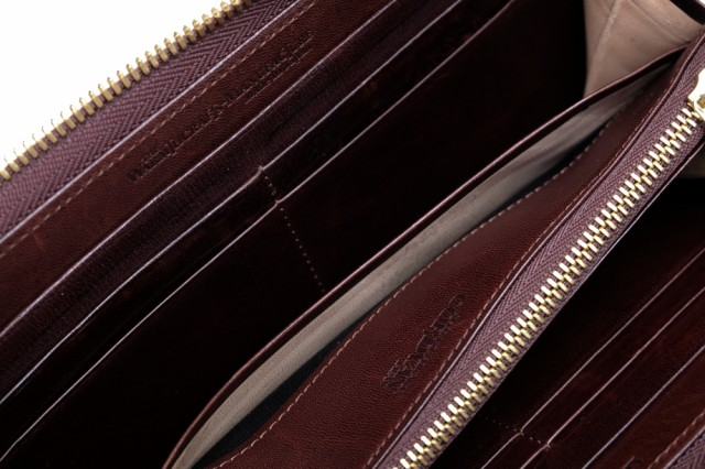 ○ウォームスクラフツ マニュファクチャー warmthcrafts manufacture ROUND ZIPPED-WALLET コードバン ラウンドジップ ラウンドフ 中古