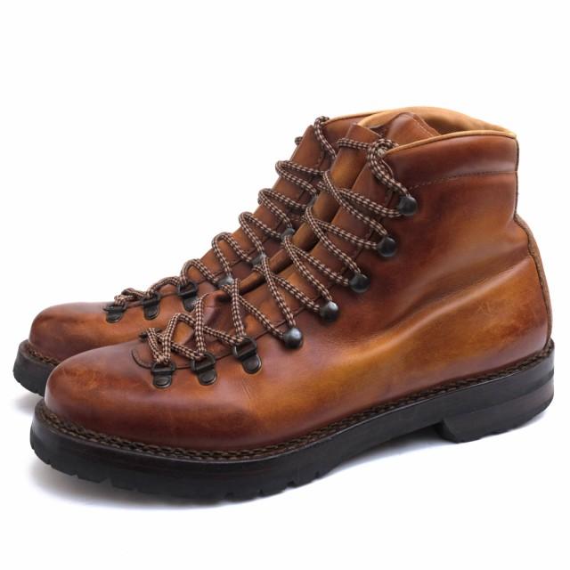 【10%OFF】 Giacometti Vibramソール ○マルモラーダ ウォッシュ加工 F.LLI FG105 定番 パティーヌ染め VIT.BETIS マウンテンブーツ MARMOLADA-靴・シューズ