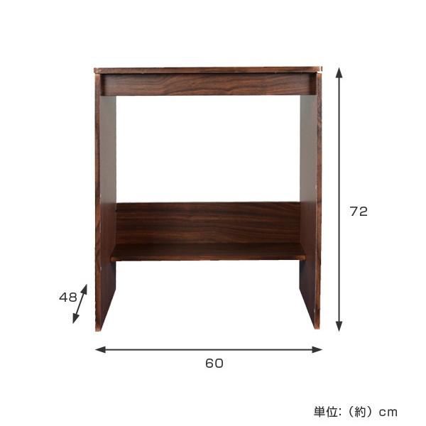 コンソールデスク 幅60cm ( 机 つくえ )