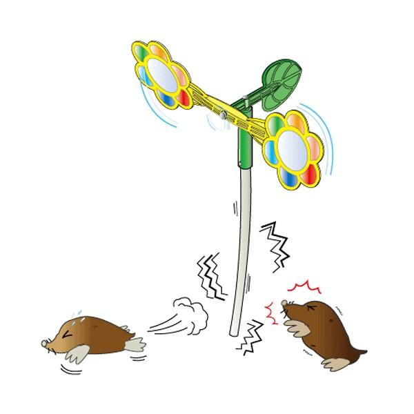 鳥害対策 NEWとりモグラキラキラー  ( キラー )
