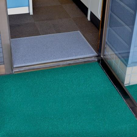 玄関マット 屋外用 コイルカラーマット クッション 120cm×6m巻 ( 泥落とし )