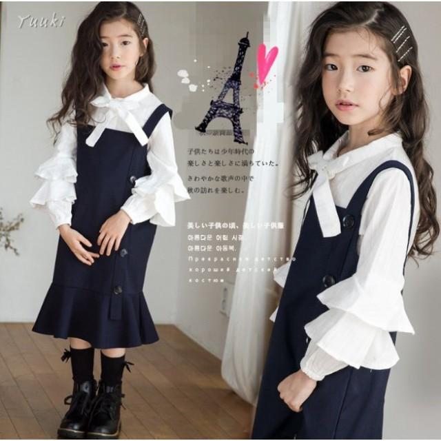 5d281ec797ebd 入学式 子供 2点セット ワンピース 女の子 スーツ 卒園式 ドレス フォーマル ワンピース 女児