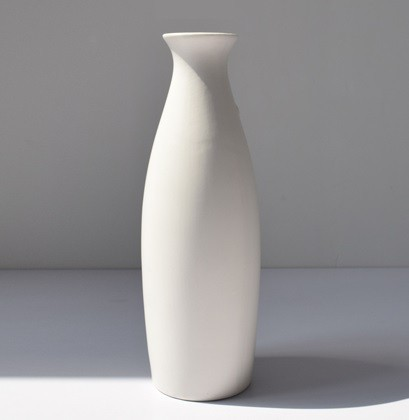 【お取り寄せ】花瓶 フラワーベース チャイナ服 縦長 白い陶器|au Wowma!(ワウマ)