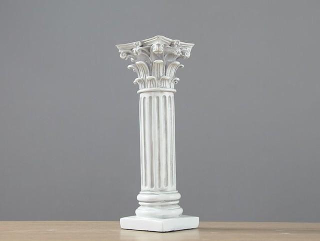 置物 神殿の柱モチーフ 古代ギリ...