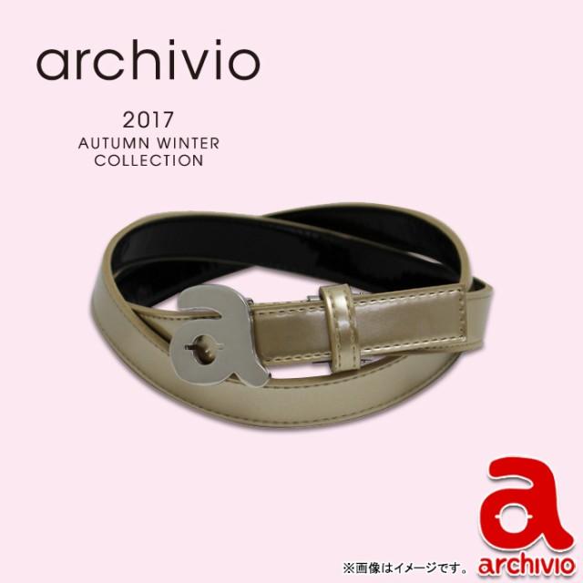 74daa0162ba7b9 【A710809】【NEW秋冬モデル】archivio-アルチビオ- LADYS レディース ベルト【