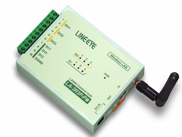 人気ブランド ラインアイ [LA-3R3P-PW2] 無線LAN接続型デジタルIOユニット [LA-3R3P-PW2] リレー接点3出力 ラインアイ/ドライ接点3入力, チャーミ:66dede33 --- kulturbund-sachsen-anhalt.de