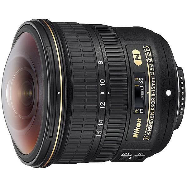 超人気新品 AF-S Fisheye Nikon 8-15mm [AFS8-15E] f/3.5-4.5E NIKKOR ED-カメラ