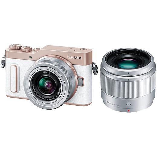 【ファッション通販】 GF90 (ホワイト) LUMIX Panasonic ダブルレンズキット [DC-GF90W-W] デジタル一眼カメラ-カメラ