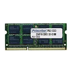 早割クーポン! DDR3-SDRAM 8GB(4GBx2枚組) APPLE PC3-10600 ノート用メモリ [PAN3/1333-4GX2] プリンストン SO-DIMM 204pin-PCパーツ