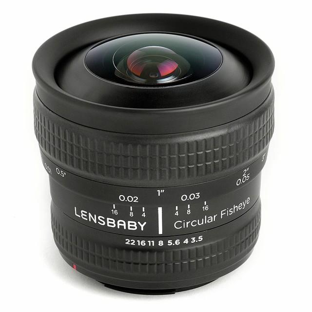 春新作の [859780] サーキュラー フィッシュアイ 魚眼レンズ LENSBABY ケンコー・トキナー ソニーEマウント 5.8mm F3.5-カメラ