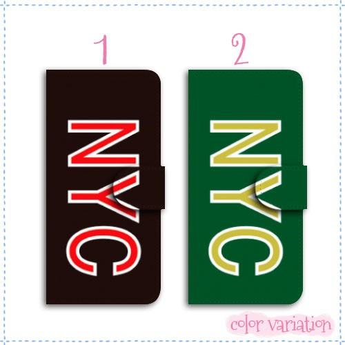 AQUOS Xx3 mini 手帳型 スマホケース 603SH ケース 分厚い白革 NYC/01