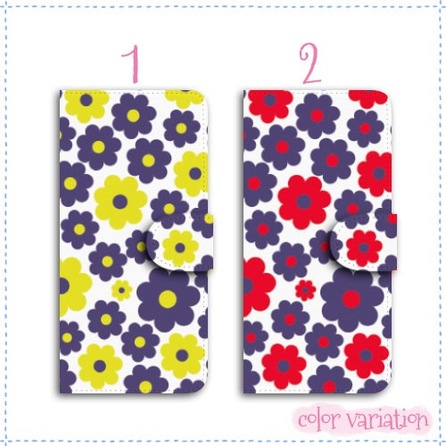 iPhone 6 Plus 手帳型 スマホケース iPhone 6 Plus ケース 北欧/花柄01  アイフォン 6 プラス