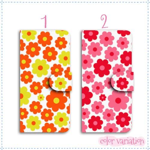 iPhone 5s 手帳型 スマホケース iPhone 5s ケース 北欧/花柄02  アイフォン 5s