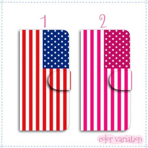 iPhone 6 Plus 手帳型 スマホケース iPhone 6 Plus ケース アメリカ国旗  アイフォン 6 プラス