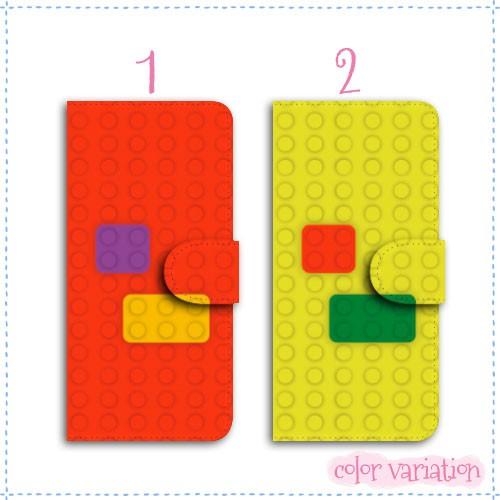 AQUOS PHONE si 手帳型 スマホケース SH-07E ケース キャメル ブロック  手帳ケース