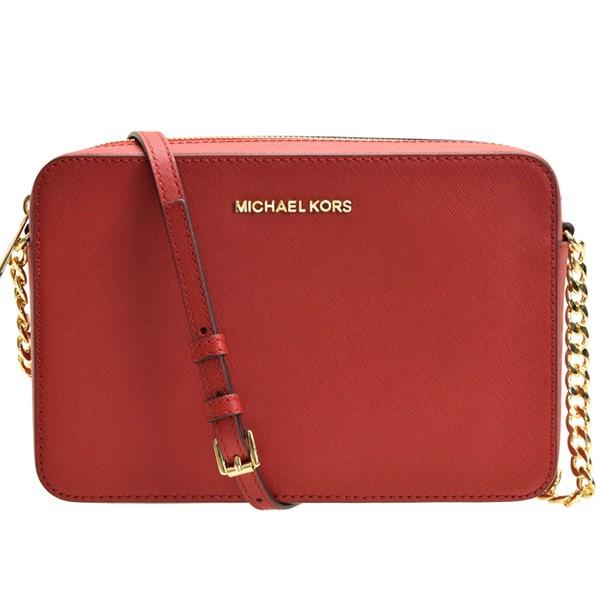 d705579c44e3 マイケルコース MICHAEL KORS 斜めがけショルダーバッグ チェーン アウトレット 35t8gttc9l-scarlet