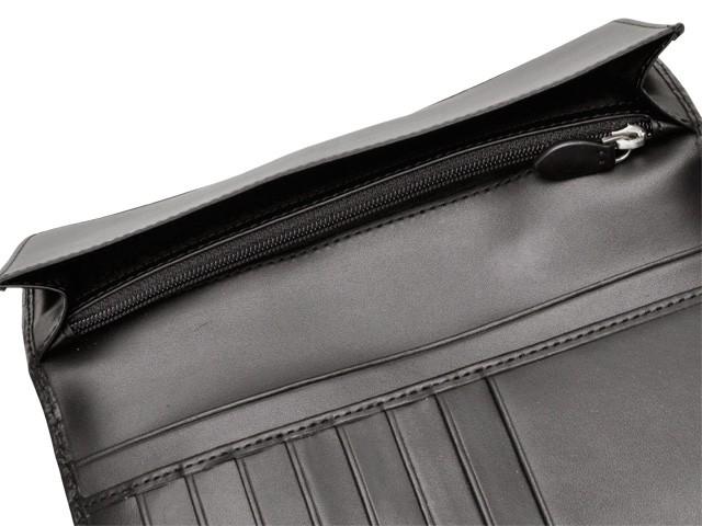dfa797690e7b 高い エンポリオ・アルマーニ EMPORIO ARMANI メンズ 二つ折り長財布 ブラック レザー yem474-80001