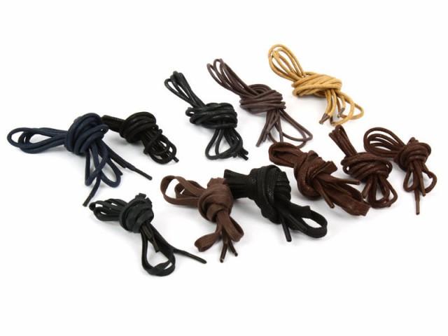 ビジネスシューズに最適ロー引きシューレース!0.6*70cm±2cm平紐 靴紐 靴ひも#ブラック【新品/送料込み】