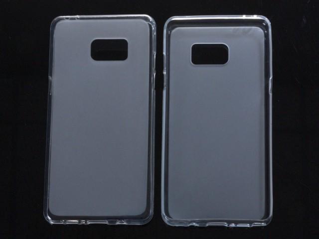 Samsung Galaxy Note 7 クリア系カラー 防塵 ソフトケース TPU製 保護カバー #クリアホワイト 送料込