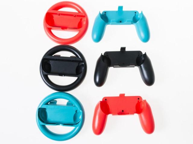 ニンテンドー Nintendo Switch用 Joy-con コントローラー 拡張 アタッチメント/2個入り#ブラック 送料込