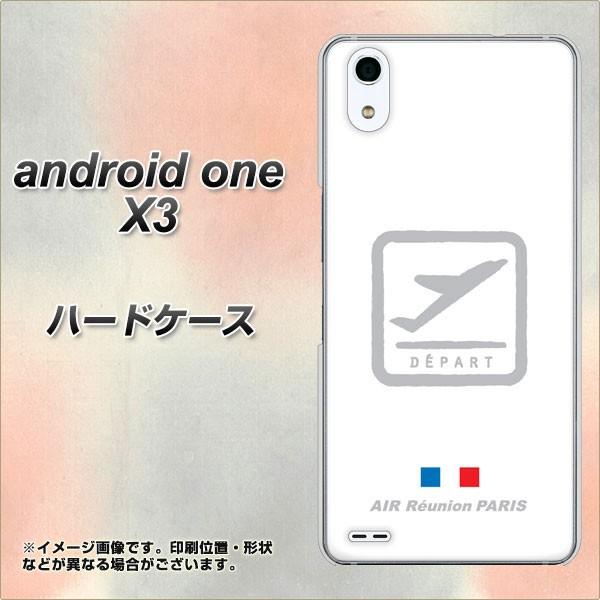 android one X3 ハードケース / カバー【549 AIR-Line-離陸 素材クリア】(アンドロイドワン X3/ANDONEX3用)
