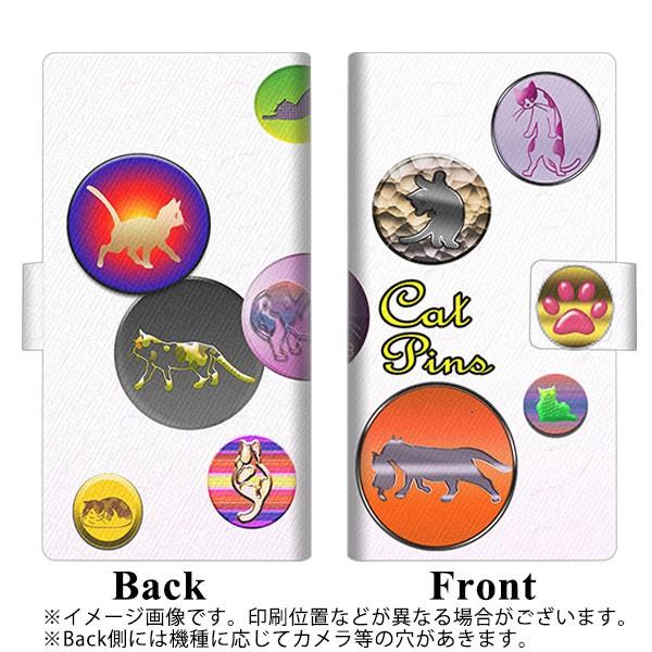 メール便 iPhone8 手帳型スマホケース 【 YA911 CAT PINS01 】横開き (アイフォン8/IPHONE8用/スマホケース/手帳式)