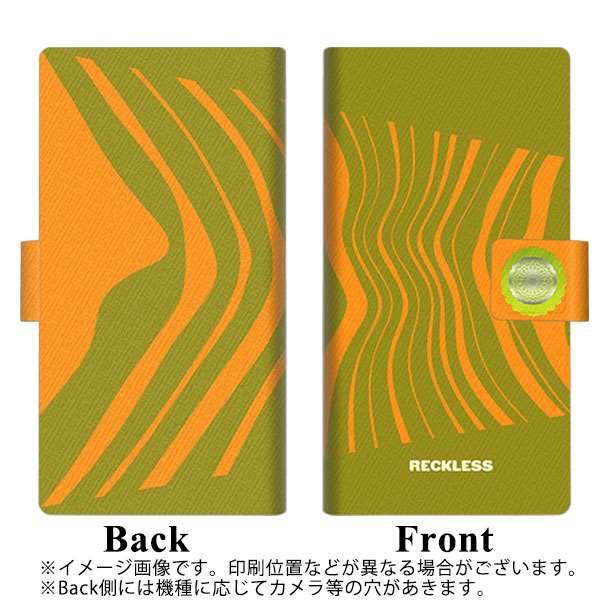 メール便 Galaxy Feel SC-04J 手帳型スマホケース 【 YB980 ウェーブモーション01 】横開き (ギャラクシー フィール SC-04J/SC04