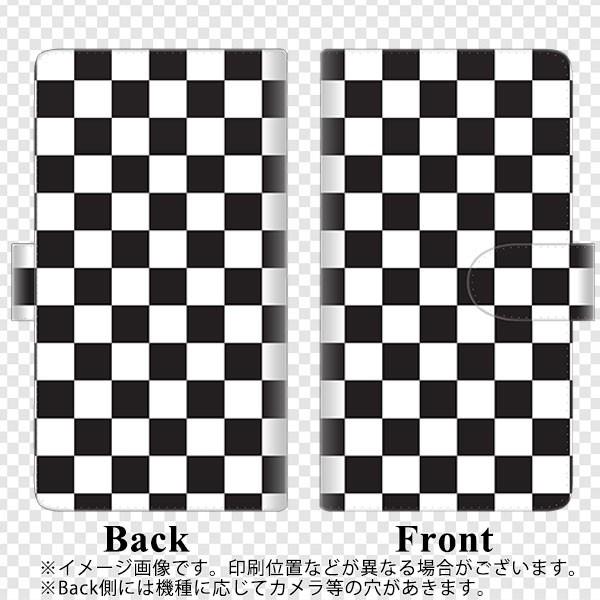 メール便送料無料 Galaxy S8 SC-02J 手帳型スマホケース 【ステッチタイプ】 【 151 フラッグチェック 】横開き (ギャラクシーS8 SC-02J/