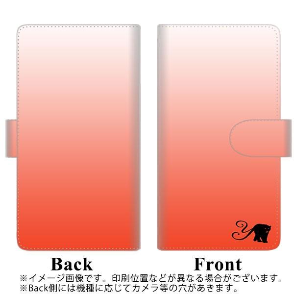 メール便送料無料 ZenFone AR ZS571KL 手帳型スマホケース 【ステッチタイプ】 【 YI866 イニシャル ネコ Y 】横開き (ゼンフォンAR ZS57