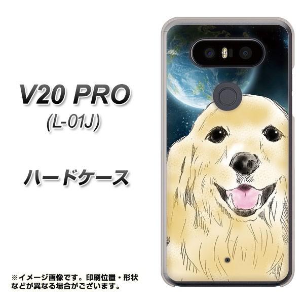 docomo V20 PRO L-01J ハードケース / カバー【YD826 ゴールデン02 素材クリア】(docomo V20 PRO L-01J/L01J用)