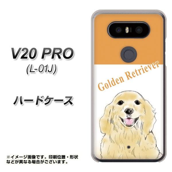 docomo V20 PRO L-01J ハードケース / カバー【YD827 ゴールデン03 素材クリア】(docomo V20 PRO L-01J/L01J用)