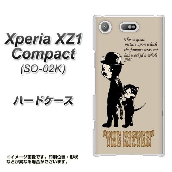 Xperia XZ1 Compact SO-02K ハードケース / カバー【YJ251 THE KITTEN 素材クリア】(エクスペリア XZ1 コンパクト SO-02K/SO02K用)