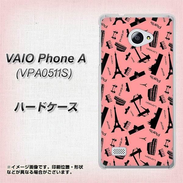 VAIO PhoneA VPA0511S ハードケース / カバー【VA882 ヨーロッパ(PK) 素材クリア】(VAIO PhoneA VPA0511S/VPA0511S用)