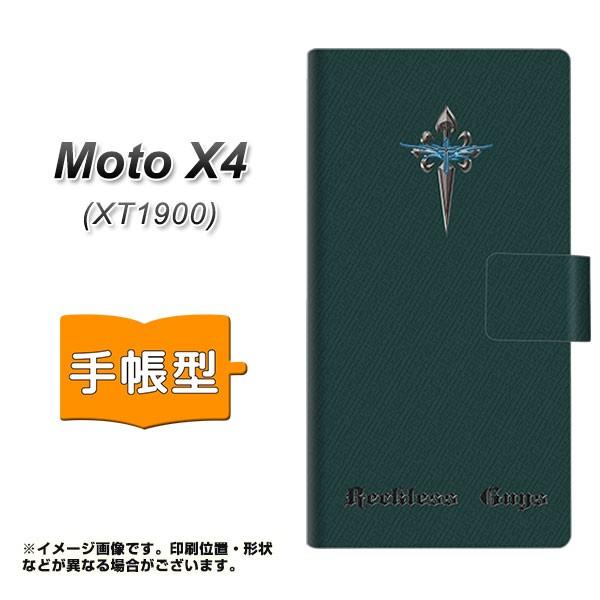 メール便 Moto X4 XT1900 手帳型スマホケース 【 YC915 クロスソードs 】横開き (モト X4 XT1900/XT1900用/スマホケース/手帳式